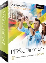 PhotoDirector 8 Deluxe Box