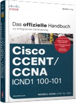 Cisco CCENT/CCNA ICND1 100-101, Best.Nr. DP-107, € 59,90