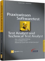 Praxiswissen Softwaretest - Test Analyst & Technical Test Analyst, Best.Nr. DP-137, € 44,90