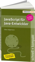 JavaScript f�r Java-Entwickler schnell + kompakt, Best.Nr. EP-21370, € 12,90