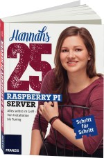 Hannahs 25 Raspberry Pi Server, Best.Nr. FR-60330, € 34,95