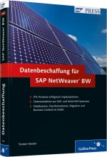 Datenbeschaffung f�r SAP NetWeaver BW, Best.Nr. GP-1555, € 69,90