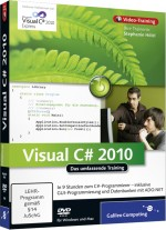 Visual C# 2010 - Video-Training, Best.Nr. GP-1608, € 35,95