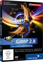 GIMP 2.8 - Das umfassende Video-Training, Best.Nr. GP-1724, € 35,95