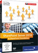 SharePoint Server 2010 & SharePoint Foundation (Videotraining), Best.Nr. GP-1869, € 53,95