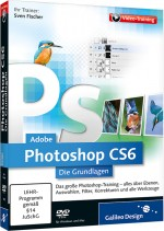 Adobe Photoshop CS6 - Die Grundlagen - Video-Training, Best.Nr. GP-1900, € 26,95