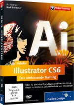 Adobe Illustrator CS6 - Das umfassende Video-Training, Best.Nr. GP-1903, € 35,95