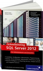 Schnelleinstieg SQL Server 2012, Best.Nr. GP-1938, € 29,90