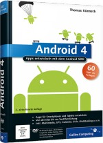 Android 4 - Apps entwickeln mit dem Android SDK, Best.Nr. GP-1948, € 34,90