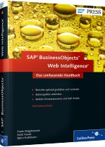 SAP BusinessObjects Web Intelligence - Das umfassende Handbuch, Best.Nr. GP-2053, € 69,90