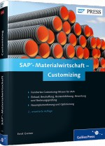 SAP-Materialwirtschaft - Customizing, Best.Nr. GP-2261, € 69,90