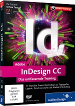 Adobe InDesign CC - Das umfassende Videotraining, Best.Nr. GP-2431, € 35,95