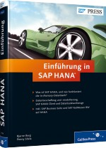 Einf�hrung in SAP HANA, Best.Nr. GP-2556, € 69,90