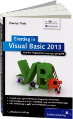 Einstieg in Visual Basic 2013, Best.Nr. GP-2816, € 24,90