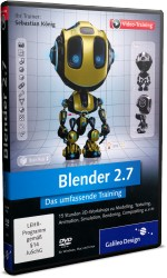 Blender 2.7 - Das umfassende Videotraining, Best.Nr. GP-2919, € 35,95