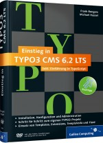 Einstieg in TYPO3 CMS 6.2 LTS, Best.Nr. GP-3061, € 29,90