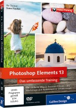 Photoshop Elements 13 - Das umfassende Videotraining, Best.Nr. GP-3504, € 35,95