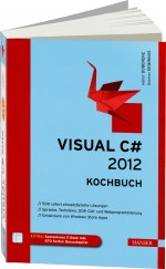 Visual C# 2012 - Kochbuch, Best.Nr. HA-43438, € 39,99