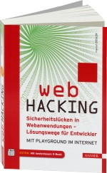 Web Hacking, Best.Nr. HA-44017, € 29,99