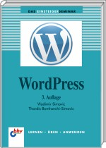 WordPress Einsteigerseminar, Best.Nr. ITP-7549, € 14,95