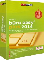 Lexware b�ro easy plus 2014, Best.Nr. LX-4110, € 139,95