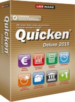Lexware Quicken Deluxe 2015 f�r 2 PCs, Best.Nr. LX-6042, € 63,95