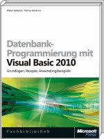 Datenbank-Programmierung mit Visual Basic 2010, Best.Nr. MS-5445, € 49,90