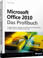 Microsoft Office 2010 - Das Profibuch, Best.Nr. MS-5677, € 49,90