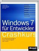Windows 7 für Entwickler - Crashkurs, Best.Nr. MSE-5539, erschienen 03/2010, € 23,90