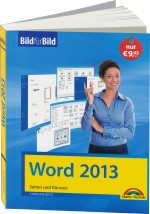 Word 2013 - Bild f�r Bild, Best.Nr. MT-84091, € 9,95