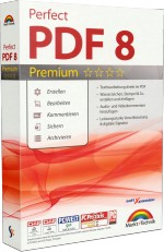 Perfect PDF 8 Premium Edition, Best.Nr. MT-84183, € 49,95