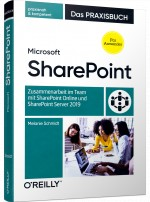 Microsoft SharePoint, ISBN: 978-3-96009-142-4, Best.Nr. OR-142, € 39,90
