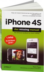 iPhone 4S - das missing manual, Best.Nr. OR-230, € 29,90
