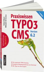 Praxiswissen TYPO3 CMS Version 6.2, Best.Nr. OR-5345, € 29,90