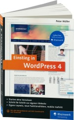 Einstieg in WordPress 4, Best.Nr. RW-2913, € 24,90
