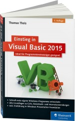Einstieg in Visual Basic 2015, Best.Nr. RW-3703, € 29,90