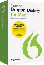 Dragon Dictate 4.0 f�r Mac Education, Best.Nr. SC-0225, € 99,95
