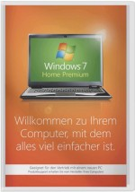 Windows 7 Home Premium - 64 Bit SP1 SB, Best.Nr. SO-3008, € 92,95