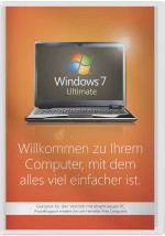 Windows 7 Ultimate - 32 Bit SP1 SB, Best.Nr. SO-3011, € 159,95