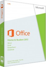 MS Office Home and Student 2013 - Key Card, Best.Nr. SO-3110, € 119,95