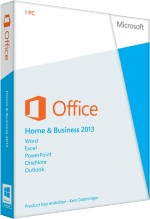 MS Office Home and Business 2013 - Key Card, Best.Nr. SO-3111, € 209,95