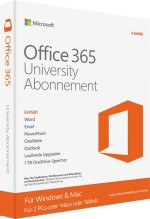 Microsoft Office 365 University, ESD, Best.Nr. SOO3115, € 69,95