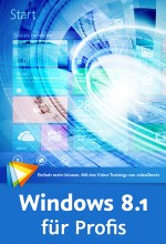 Windows 8.1 f�r Profis (Videotraining), Best.Nr. V2B-1318, € 39,95