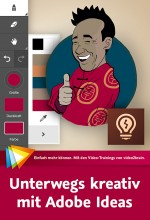 Unterwegs kreativ mit Adobe Ideas (Videotraining), Best.Nr. V2B-1331, € 24,95