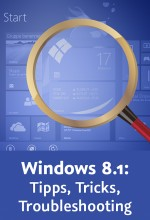 Windows 8.1: Tipps, Tricks, Troubleshooting (Videotraining), Best.Nr. V2B-1340, € 29,95