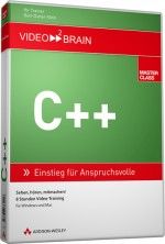 C++ - Videotraining  (Download), Best.Nr. V2B-6148, € 35,95
