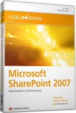 Microsoft SharePoint 2007 - Video-Training (Download), Best.Nr. V2B-6240, € 53,95
