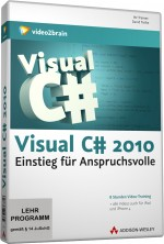 Visual C# 2010 (Videotraining), Best.Nr. V2B-6375, € 35,95