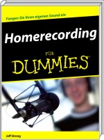 Homerecording f�r Dummies, Best.Nr. WL-70548, € 24,95