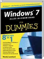 Windows 7 f�r Dummies - Alles-in-einem-Band, Best.Nr. WL-70573, € 29,95